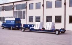 Мобильный тормозной стенд для грузовых автомобилей IW 4 mobile